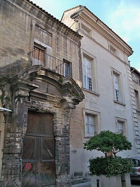 Photo du Monument Historique Ancien hôtel Calvet dit Hôtel du Prince de Conti situé à Villeneuve-lès-Avignon