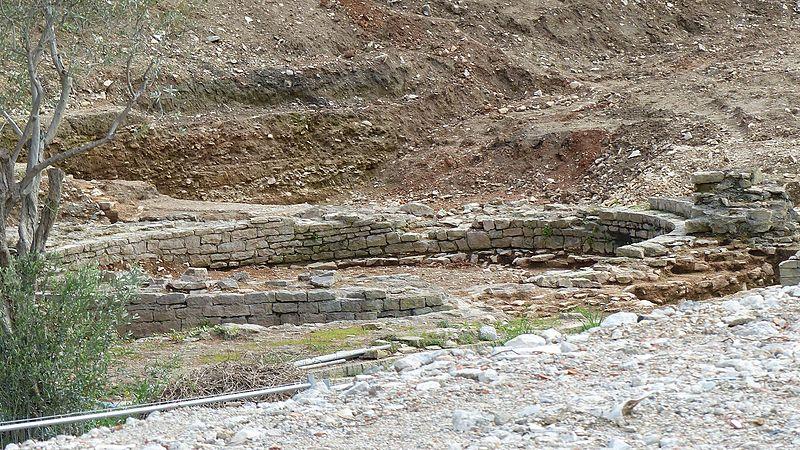 Photo du Monument Historique Enceinte antique situé à Nîmes