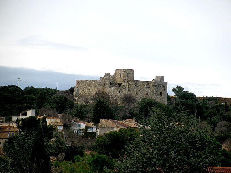 Photo du Monument Historique Château situé à Lédenon