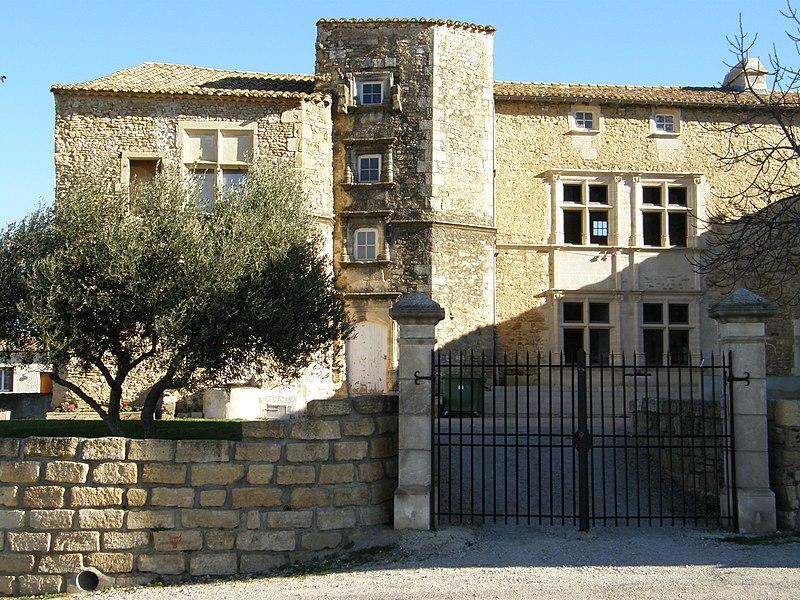 Photo du Monument Historique Château situé à Générac