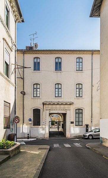 Photo du Monument Historique Ancien collège dit casernes Thoiras situé à Alès