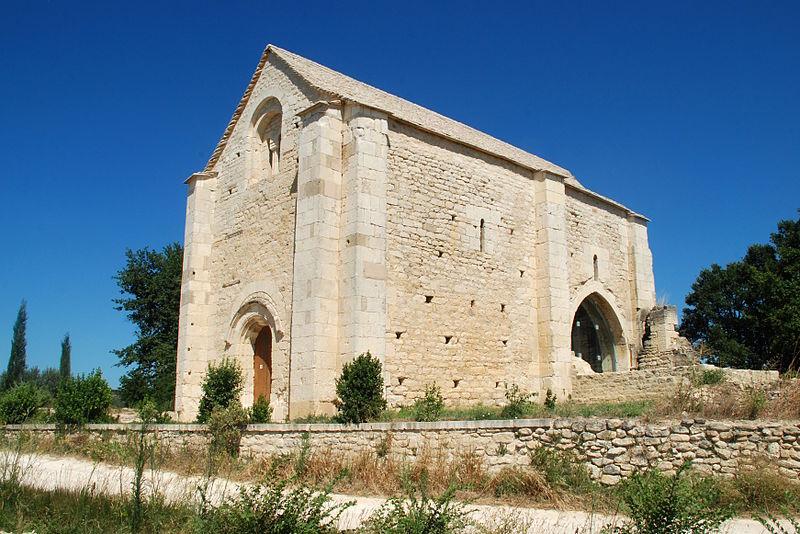 Photo du Monument Historique Chapelle Saint-Etienne situé à Saint-Hilaire-d'Ozilhan