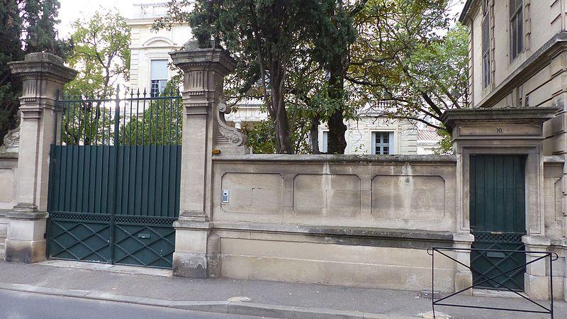 Photo du Monument Historique Hôtel Colomb de Daunant, ex-hôtel Foulc situé à Nîmes