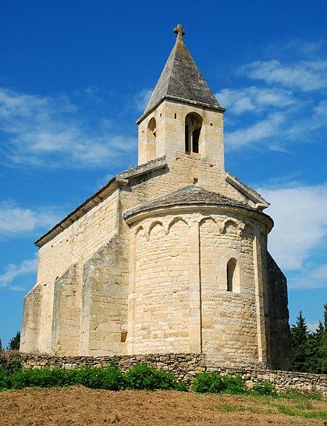 Photo du Monument Historique Chapelle Saint-Pierre situé à Vénéjan