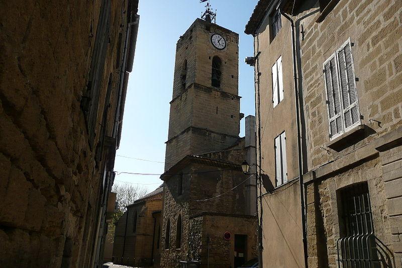 Photo du Monument Historique Eglise collégiale et paroissiale Saint-Jean-Baptiste situé à Roquemaure