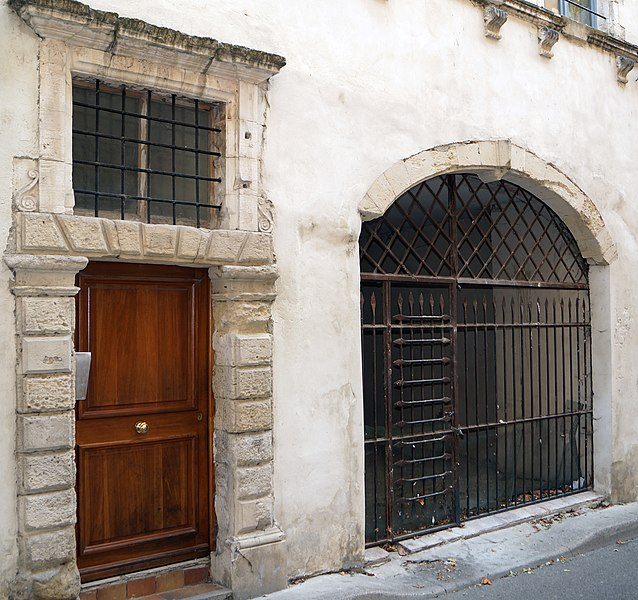 Photo du Monument Historique Hôtel situé à Pont-Saint-Esprit