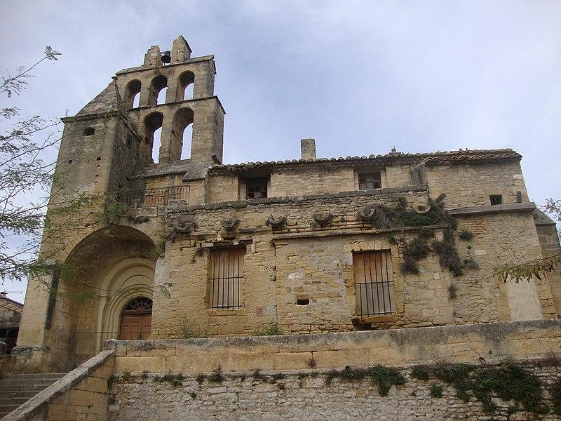 Photo du Monument Historique Ancienne église Notre-Dame de Bethléem et tour dite des Gardes situé à Remoulins