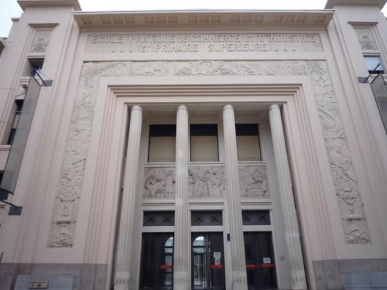 Photo du Monument Historique Lycée technologique régional Dhuoda situé à Nîmes