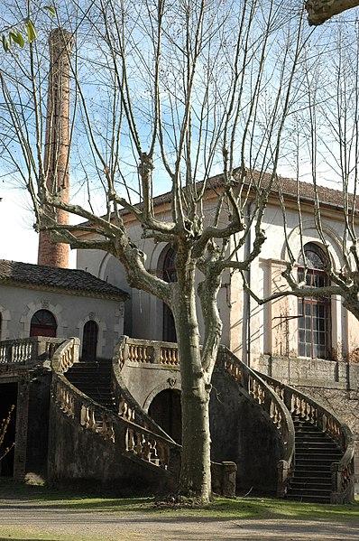 Photo du Monument Historique Ancienne filature dite Maison Rouge situé à Saint-Jean-du-Gard