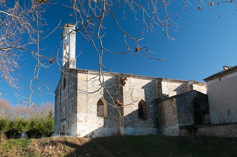 Photo du Monument Historique Eglise de Russan situé à Sainte-Anastasie