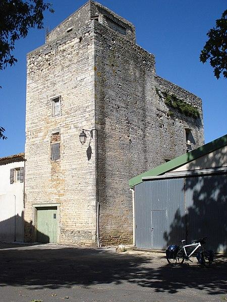 Photo du Monument Historique Logis seigneurial situé à Gajan