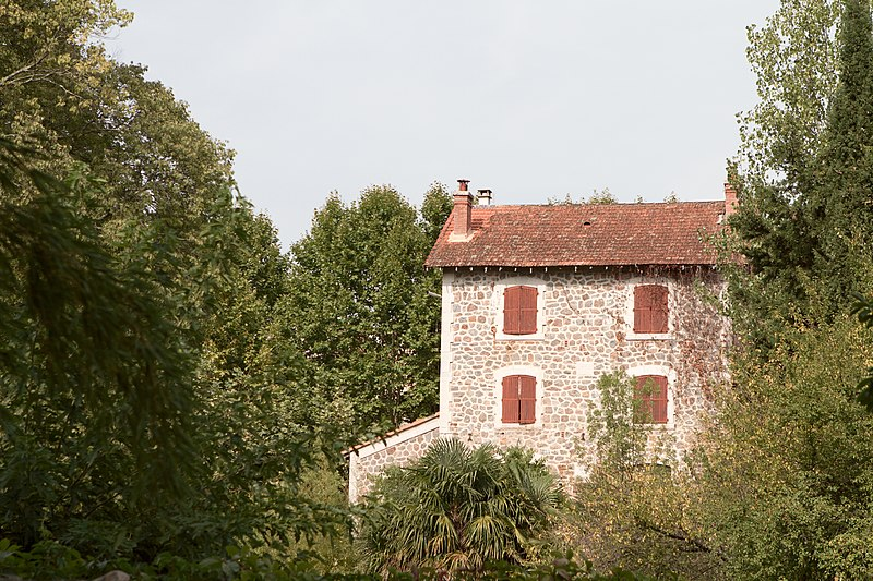 Photo du Monument Historique Domaine de la Bambouseraie de Prafrance situé à Générargues