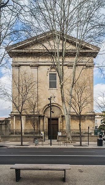 Photo du Monument Historique Eglise Saint-Charles situé à Nîmes