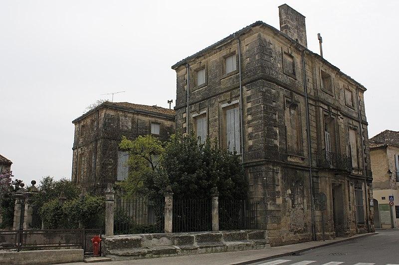 Photo du Monument Historique Hôtel particulier dit maison Margarot situé à Calvisson