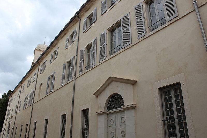 Photo du Monument Historique Ancien grand séminaire, siège des archives départementales situé à Nîmes