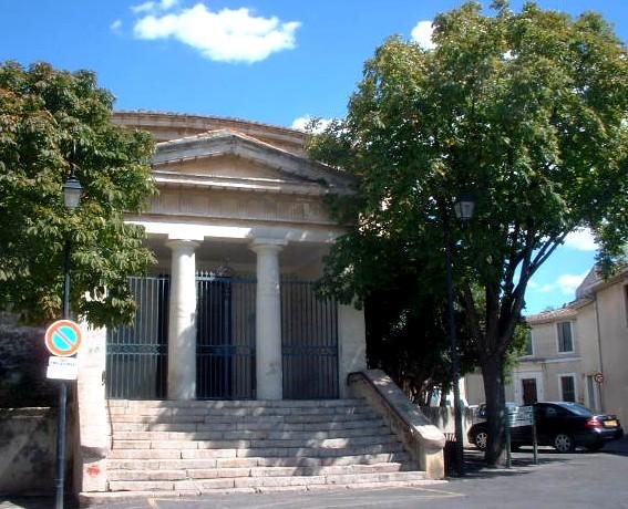 Photo du Monument Historique Temple protestant situé à Beauvoisin