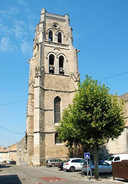 Photo du Monument Historique Eglise paroissiale Saint-Saturnin situé à Pont-Saint-Esprit
