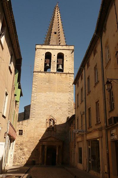 Photo du Monument Historique Eglise paroissiale Saint-Jean-Baptiste situé à Bagnols-sur-Cèze