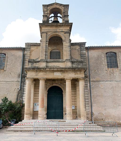 Photo du Monument Historique Temple protestant situé à Gallargues-le-Montueux