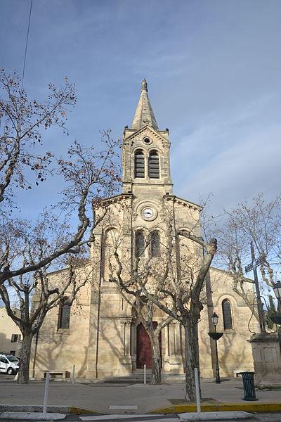 Photo du Monument Historique Eglise paroissiale situé à Manduel