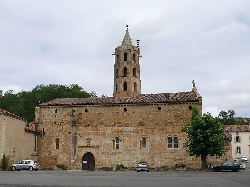 Photo du Monument Historique Eglise situé à Aulon