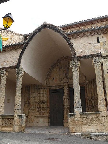 Photo du Monument Historique Eglise Saint-Pierre-aux-Liens situé à Aurignac