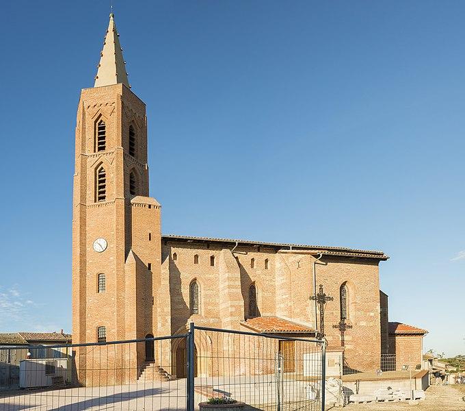 Photo du Monument Historique Eglise situé à Aussonne