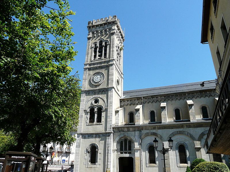 Photo du Monument Historique Eglise Notre-Dame-de-l'Assomption situé à Bagnères-de-Luchon