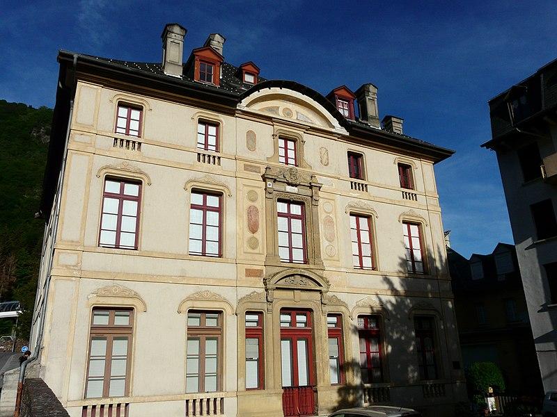 Photo du Monument Historique Résidence Charles Tron situé à Bagnères-de-Luchon