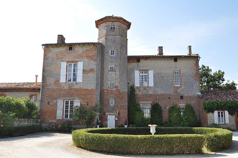 Photo du Monument Historique Château de Thégra situé à Balma