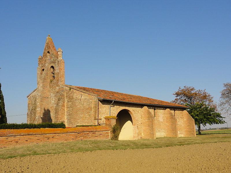 Photo du Monument Historique Eglise Saint-Eutrope situé à Baziège