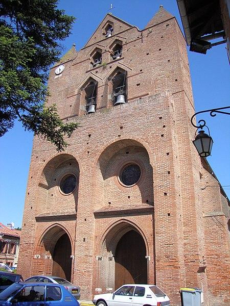 Photo du Monument Historique Eglise situé à Baziège