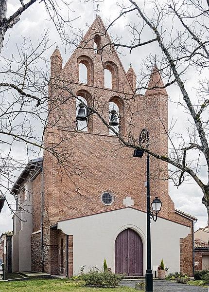 Photo du Monument Historique Eglise situé à Bazus