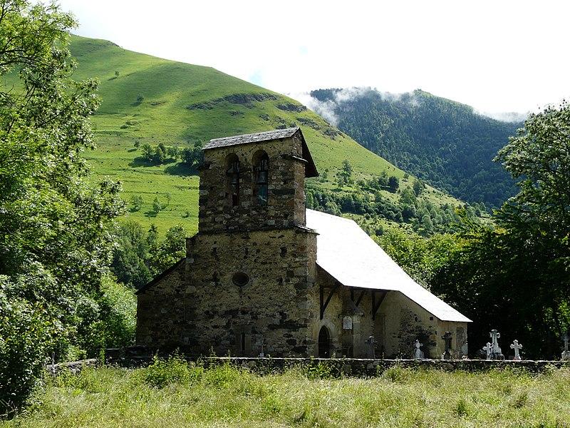 Photo du Monument Historique Eglise de Benque-Dessus situé à Benque-Dessous-et-Dessus