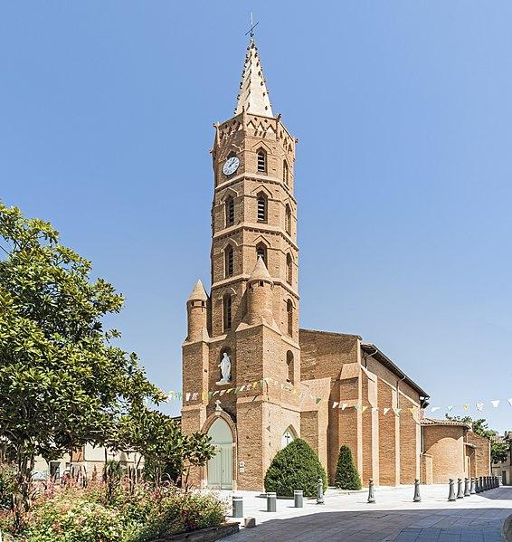 Photo du Monument Historique Eglise Saint-Pierre situé à Blagnac