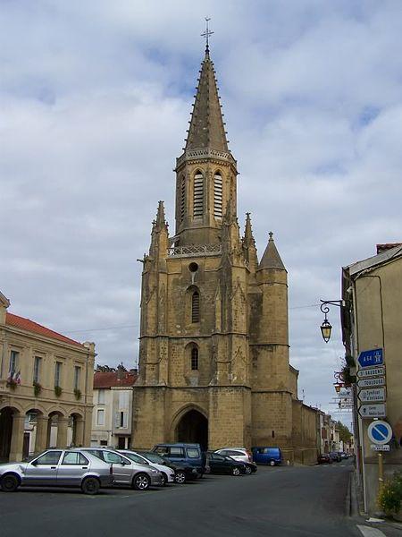 Photo du Monument Historique Eglise Sainte-Marie situé à Boulogne-sur-Gesse
