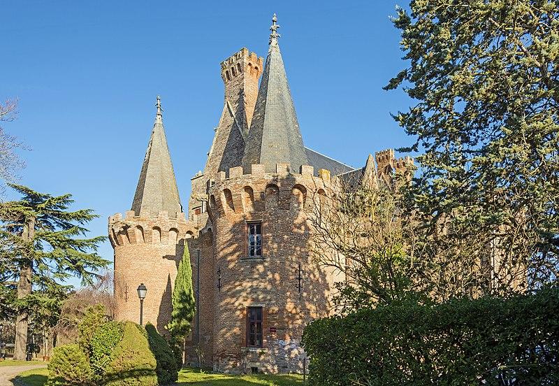 Photo du Monument Historique Château situé à Brax