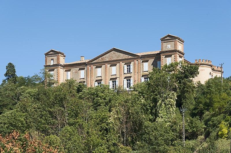 Photo du Monument Historique Château situé à Castelnau-d'Estrétefonds