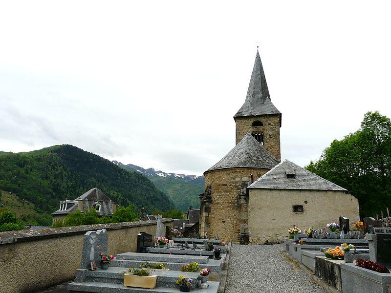Photo du Monument Historique Eglise Sainte-Anne situé à Cazeaux-de-Larboust