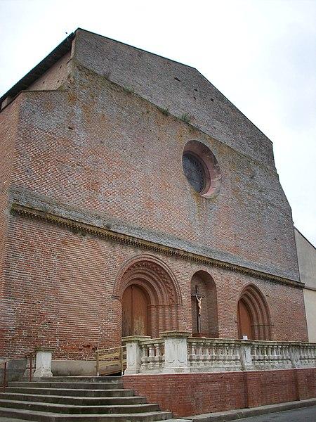 Photo du Monument Historique Eglise Notre-Dame situé à Cintegabelle