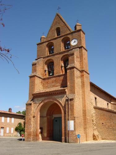 Photo du Monument Historique Eglise Saint-Martin situé à Fontenilles