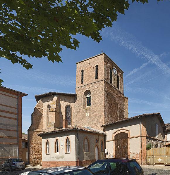 Photo du Monument Historique Eglise situé à Fronton