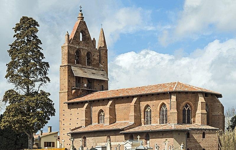 Photo du Monument Historique Eglise Saint-Jean-Baptiste situé à Garidech