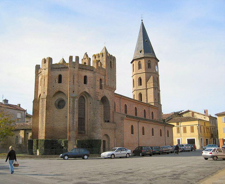 Photo du Monument Historique Eglise Saint-Adrien situé à L'Isle-en-Dodon