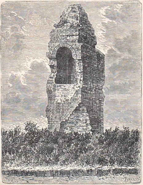 Photo du Monument Historique Pile romaine situé à Labarthe-Rivière