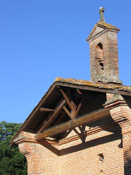 Photo du Monument Historique Chapelle Notre-Dame-du-Bout-du-Pont situé à Lherm