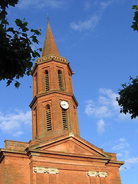 Photo du Monument Historique Eglise Saint-André situé à Lherm