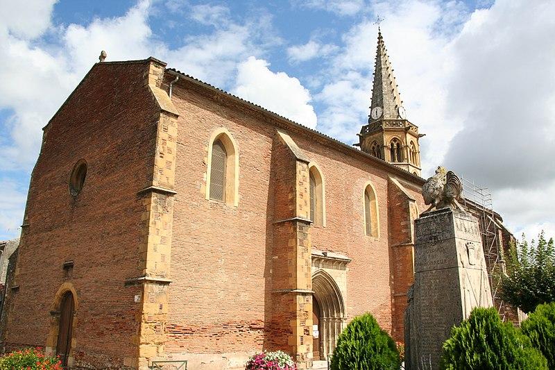 Photo du Monument Historique Eglise Saint-Vidian situé à Martres-Tolosane