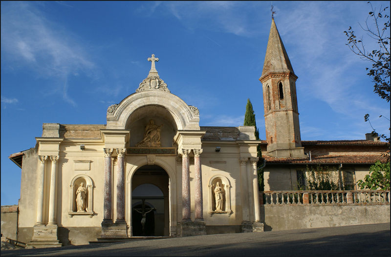 Photo du Monument Historique Chapelle Notre-Dame d'Alet situé à Montaigut-sur-Save