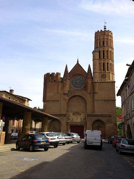 Photo du Monument Historique Eglise Saint-Victor situé à Montesquieu-Volvestre